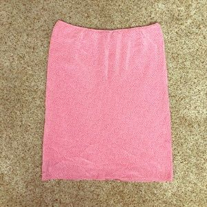 Beautiful pink 100% silk skirt